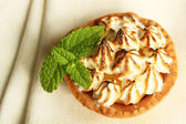 Meringue tart — Stock Photo