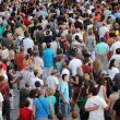 Jazz festival Crowd in Montreal — Stock Photo #13922667