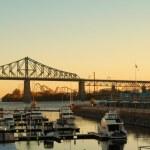 Montreal bridge — Stock Photo #13985475