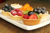 Variedade de tortas — Foto Stock