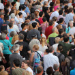 Stock Photo: Jazz festival Crowd in Montreal