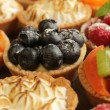 Tarts variety — Stock Photo