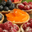 Tarts display — Stock Photo