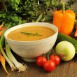 Vegetables soup — Stock Photo