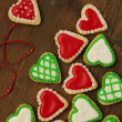 Hearts cookies - Stock Photo