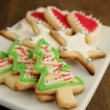Christmas cookies — Stock Photo #15419687