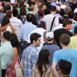 Jazz festival Crowd in Montreal — Stockfoto