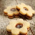 Flowers cookies — Stock Photo #15677239
