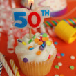 50th birthday — Stock fotografie
