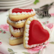 Hearts cookies — Stock Photo #15796655