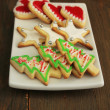 Christmas cookies - Stock fotografie
