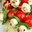 Caprese tapas — Stock Photo