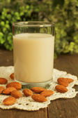 Almond milk — Stock Photo