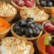 Stock Photo: Delicious tarts