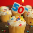 50th birthday — Foto de Stock