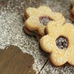 Flowers cookies — Stock Photo #22578709