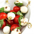 Caprese appetiser — Stock Photo #22903632