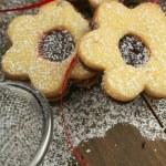 Flowers cookies — Stock Photo #23167786
