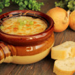 French onion soup — Stock Photo #23434940