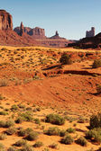 Butte at monument Valley — Stock Photo