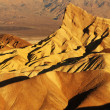 Zabriskie point at Death Valley — Stock Photo