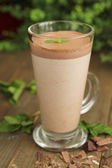 Chocolate milk — Stock Photo