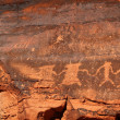 petroglyphs — Stock Photo