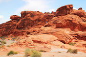 Valley of fire — Stock Photo