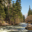 Merced river — Stockfoto