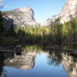 Mirror lake — Stock Photo
