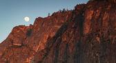 Full moon at Yosemite — Stock Photo