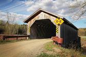 Covered bridge — Stock Photo