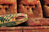 Ancient sofa — Stock Photo