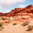 Stock Photo: Valley of fire