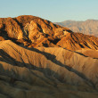Zabriskie point during sunrise — Stock Photo