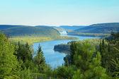Wapizagonze lake — Stock Photo