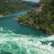 Whirlpool rapids — Stock Photo