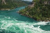 Whirlpool rapids — Stock Photo