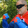 Super hero ready to fight — Stock Photo #34917323