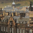 Roofs in Edinburgh — Stock fotografie