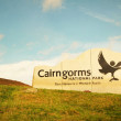 Cairngorms national park — Stock Photo