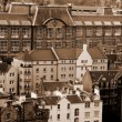 Foto Stock: Edinburgh roofs