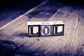 Lol wood kvarter — Stockfoto