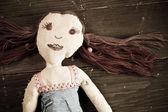Handmade doll — Stockfoto