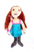 Handmade doll — Stock Photo