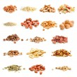 Stock Photo: Nuts and dried fruits