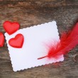 Romantic letter — Stock Photo