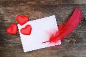 Romantic letter — Stock Photo