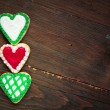 Hearts cookies — Stock fotografie #39378975