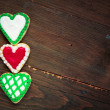 Hearts cookies — Foto de stock #39378975
